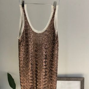 Sequin Party Dress by Aritzia